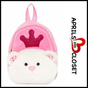 Boutique Other - ❗1-HOUR SALE❗Princess Bear Backpack Mini Bag