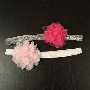 Other - Sparkley band hair flowers!