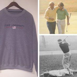 NCAA Other - Vintage Duke Club Golf Team Sweater