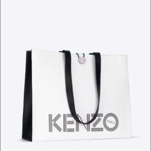 Kenzo Handbags - Kenzo H&M large leather tote