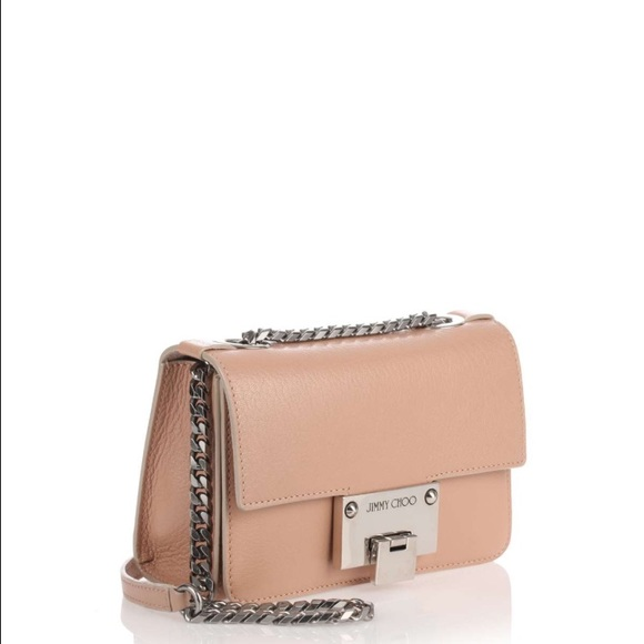 Jimmy Choo Bags Rebel Soft Mini Ballet Pink Crossbody Poshmark