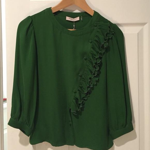 NWT Retail Bryan Bradley silk blouse