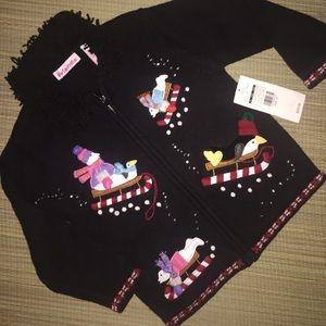 Just Friends Other - 🎉SALE!! Embellished Little Girls Cardigan