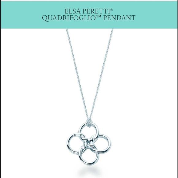 375119530 Tiffany & Co. Jewelry - 💎TIFFANY&CO ELSA PERETTI® QUADRIFOGLIO™ PENDANT✨