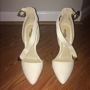 Christian Louboutin Shoes - Charlotte Russe cream heels
