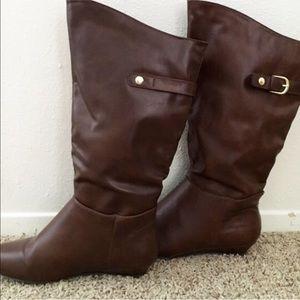 Brown Merona boots
