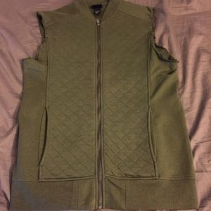 H&M Other - H&M Bomber Style Zip Up Vest
