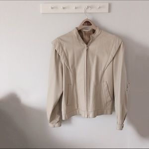 Jackets & Blazers - Italian Leather Jacket - Women's