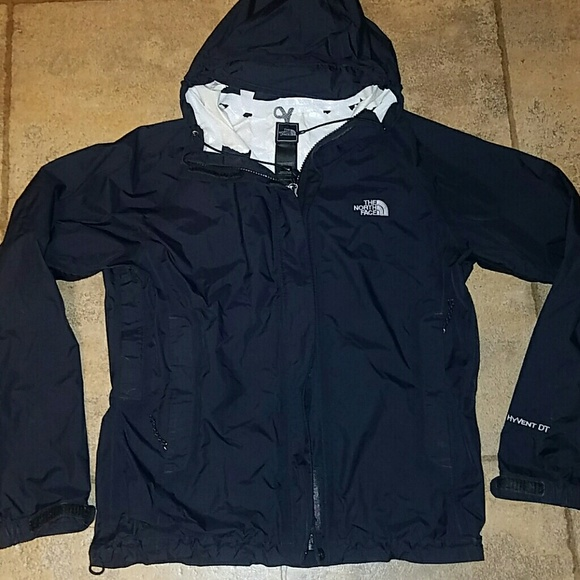 277c68ee9 Women's sz sm North Face hyvent rain jacket black