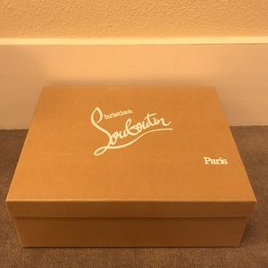 Christian Louboutin Other - Christian Louboutin Bootie Shoe Box
