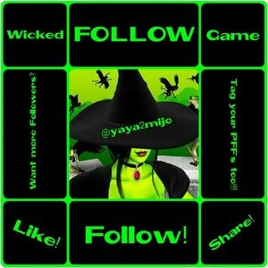 Other - WICKED Follow Me 💚💜💚💜