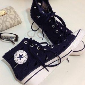 Converse gladiator wedge sneakers