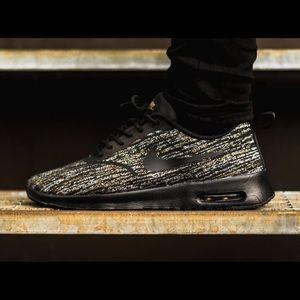 Abito In Jacquard Nero / Oro Nike Sportswear Max Thea Aria oAkrJNB