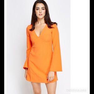 ASOS Dresses & Skirts - NWT ASOS Orange 60's Dress Sz 4