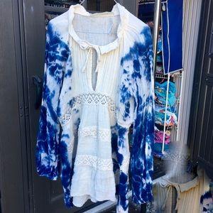Jen's Pirate Booty Dresses & Skirts - JEN'S PIRATE BOOTY $211 ATLAS TIE DYE DRESS NWT