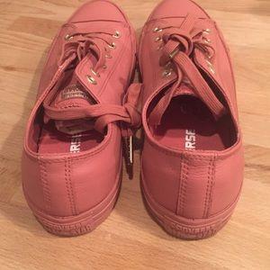 891acebcbd9f Converse Shoes - Allstar low leather desert sand pink exclusive