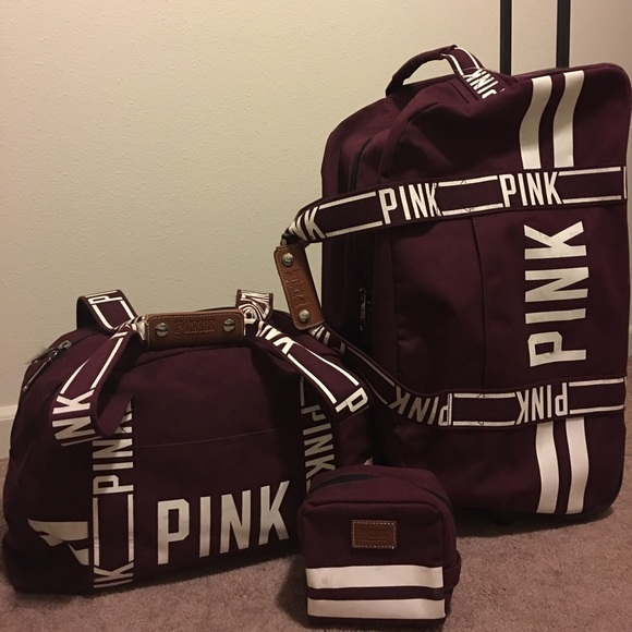 PINK Victoria's Secret - VS PINK luggage set SOLD from Jamea ...