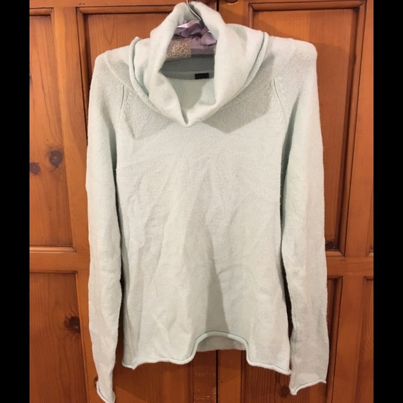75% off GAP Sweaters - GAP mint green soft lightweight cowl neck ...