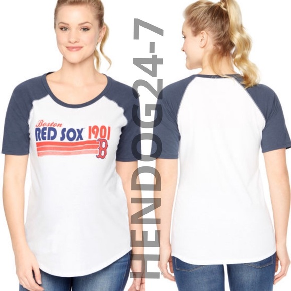 aa6fb3b0eca9b MOTHERHOOD MATERNITY MLB BOSTON RED SOX TEE. M_5832f5202599fe75240b30e6