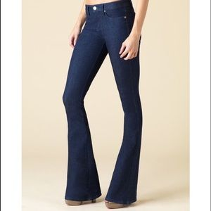 lucy marie Denim - New Lucy Marie Low Rose Flare Jeans