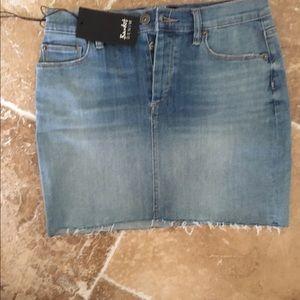 Bardot Dresses & Skirts - Jean skirt
