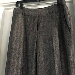 LOFT Pants - LOFT herringbone trousers