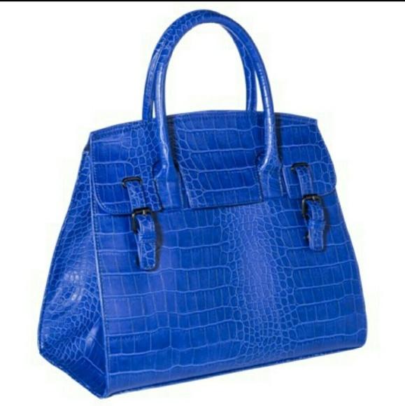 16% off Mossimo Supply Co. Handbags - Target mossimo royal blue ...