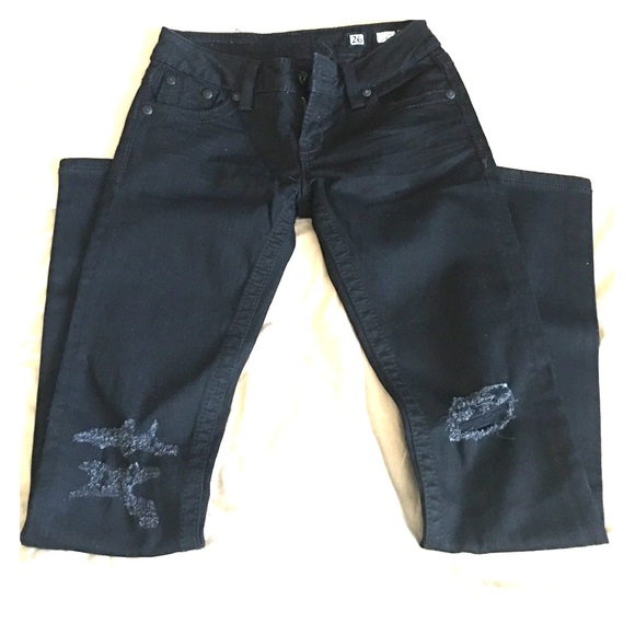 Miss Me - NWOT Miss Me Distressed Black Jeans! FINALE SALE from