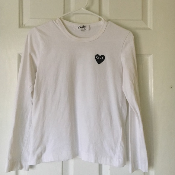 9363ed95559a Comme des Garcons Tops - CDG PLAY long sleeve shirt