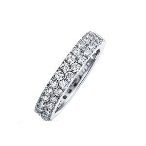 Jewelry - Sterling Silver Eternity, Stackable Ring