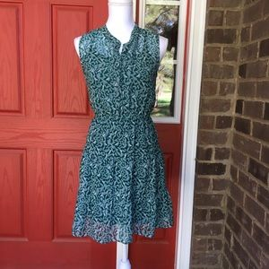 Mossimo Supply Co Dresses & Skirts - Patterned Green Dress