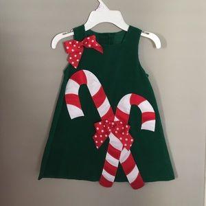 Bonnie Jean Other - Bonnie Jean Corduroy Christmas Dress 3T