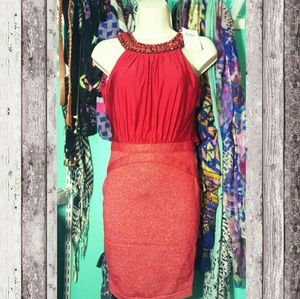 WOW couture Dresses & Skirts - Red Cocktail Dress Small