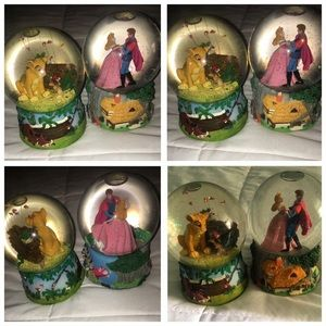 Used, disney snow globes for sale
