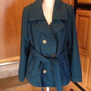 BONGO Jackets & Blazers - ⭐️Bongo Teal Peacoat size XL