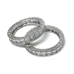 Jewelry - 925 SS Eternity, Stackable Ring, Wedding Band