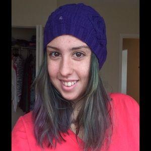 Lauren Ralph Lauren Accessories - 🎀HP🎀 Purple Ralph Lauren beanie