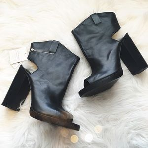 Zara Shoes - NWT Zara Edgy Open Toe Booties