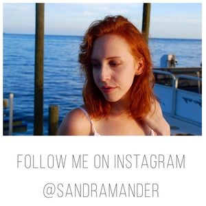 Follow me on Insta.  @sandramander