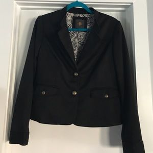 The Limited Jackets & Blazers - Limited Black Blazer with Bronzed Buttons