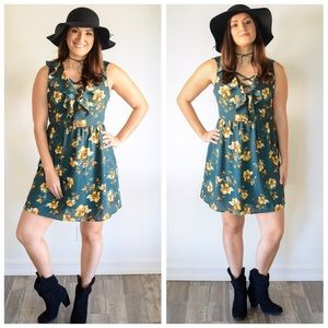 Free People Dresses & Skirts - 🌵Floral Print Country Western Festival Dress🌵
