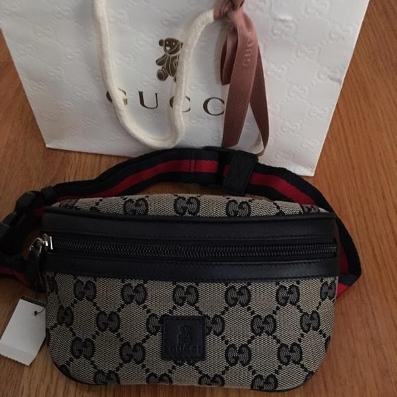 d7f523a66c9164 Gucci Accessories | Kids Canvas Belt Bag | Poshmark
