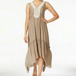 Dresses & Skirts - Crochet Tiered Dress Bohemian-Chic