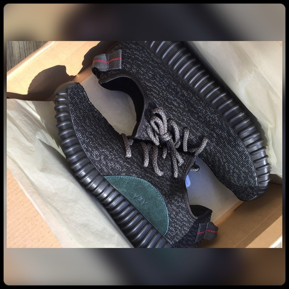 aee82231 Yeezy Shoes | Boost 350 Pirate Black Size 95 Nib | Poshmark