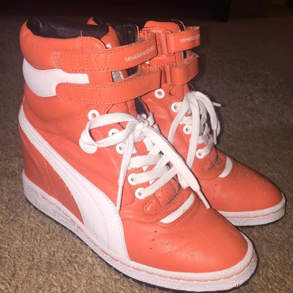 1ead983a9596 Puma Mihara Yasuhiro Wedge Sneakers MY-66