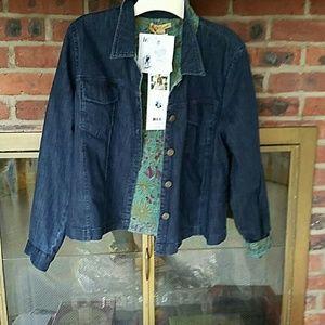 April Cornell  Jackets & Blazers - April Cornell denim jacket