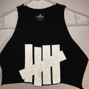 Undefeated Tops - Undefeated 3M Logo Crop Tank Top