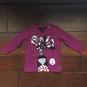 Little Marc Jacobs Other - NWT Girls Little Mark Jacobs Tee 6 mos