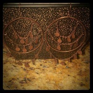 2xist Jewelry - WORLD MARKET copper brass earrings