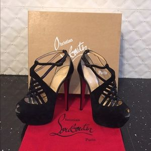 Christian Louboutin Shoes - Christian Loubiton suede and leather